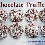 Super Easy Chocolate Truffles Recipe