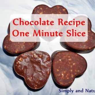 Chocolate Recipe – One Minute Slice