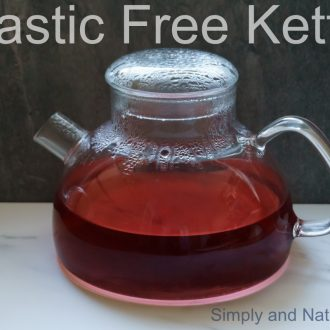 Plastic Free Kettle or Teapot